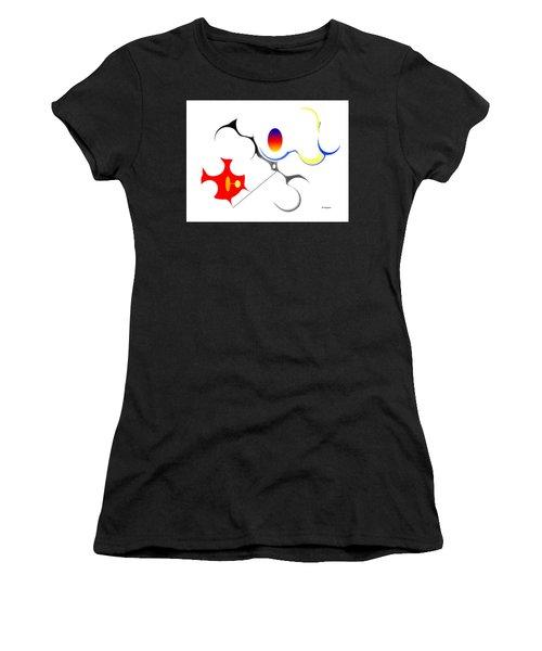 Precarious Study No, 3 Women's T-Shirt (Athletic Fit)