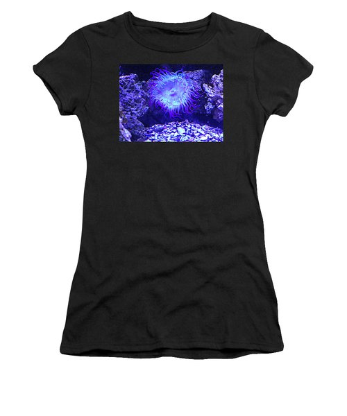 Predatory Terrestrial Sea Anemone Women's T-Shirt (Athletic Fit)