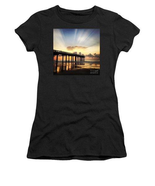 Presence Women's T-Shirt (Junior Cut) by LeeAnn Kendall