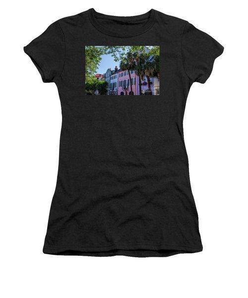 Presenting Rainbow Row  Women's T-Shirt