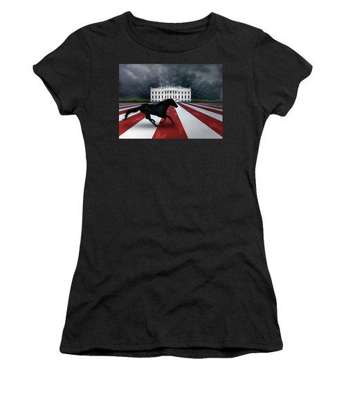 Presidential Dark Horse Women's T-Shirt (Athletic Fit)