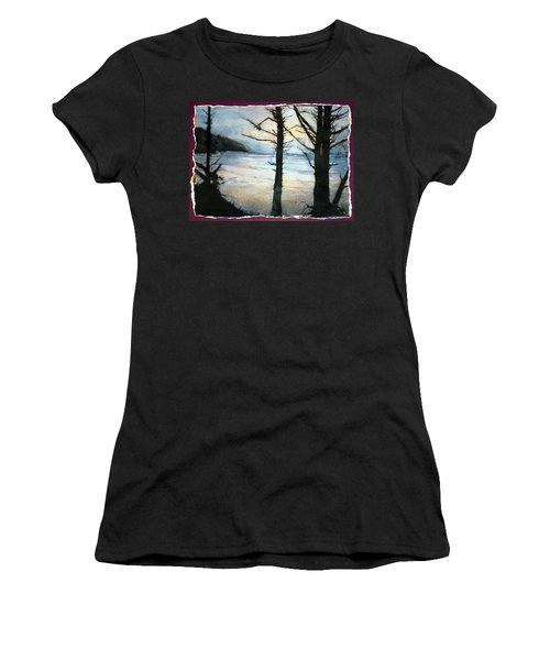 Presque Isle Dawn Women's T-Shirt (Athletic Fit)