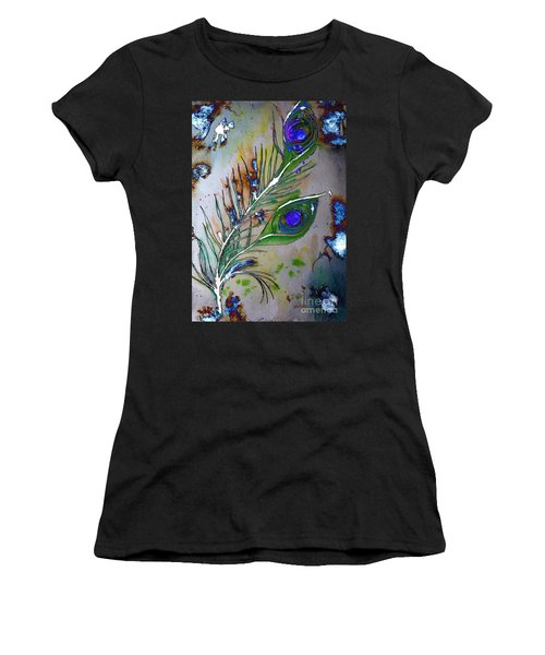 Pretty As A Peacock Women's T-Shirt