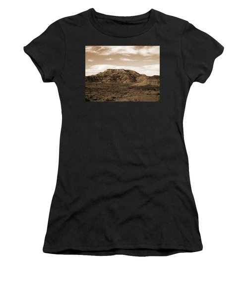 Women's T-Shirt featuring the photograph Pretty Butte by Cris Fulton