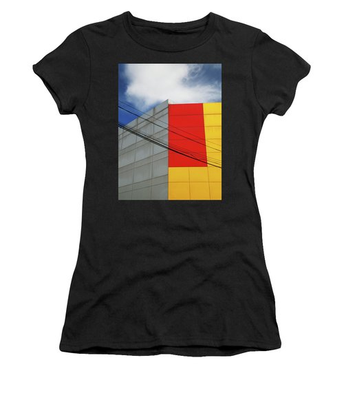 Women's T-Shirt (Junior Cut) featuring the photograph Primarily 1 by Skip Hunt