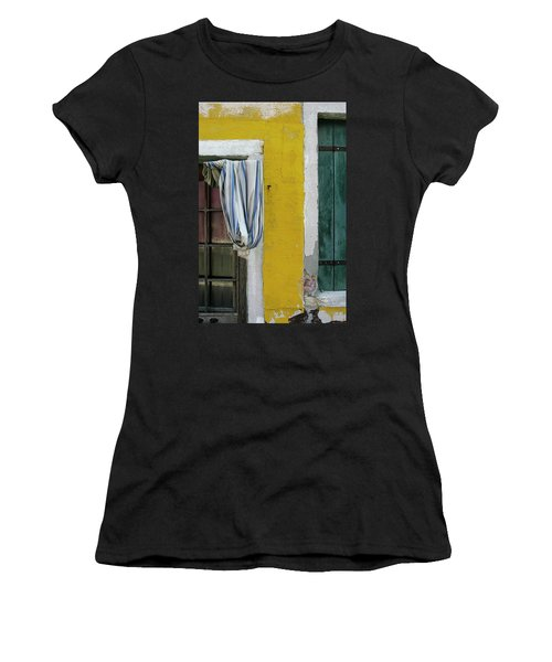 Primary Colours Of Burano Women's T-Shirt
