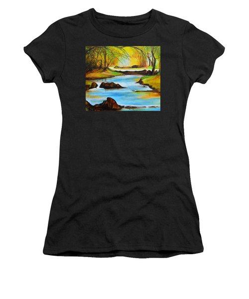 Primavera Women's T-Shirt (Athletic Fit)