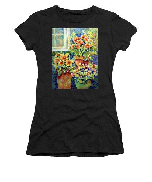 Primroses And Pansies II Women's T-Shirt