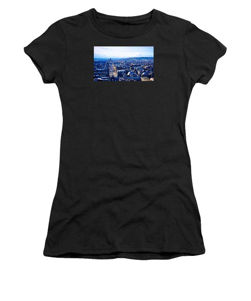 Prince's Street  Women's T-Shirt (Athletic Fit)