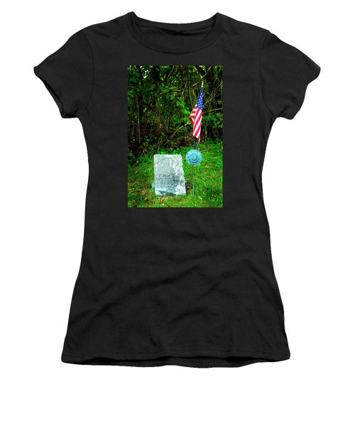 Women's T-Shirt (Junior Cut) featuring the photograph Princess White Feather by Paul W Faust - Impressions of Light