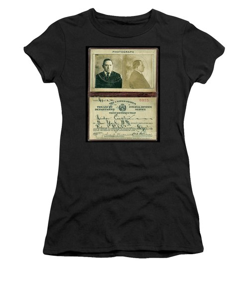 Prohibition Agent Id Women's T-Shirt