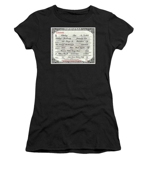 Prohibition Prescription Certificate Speakeasy Women's T-Shirt