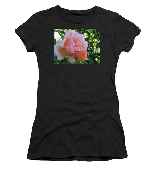 Protective Rose Women's T-Shirt (Athletic Fit)