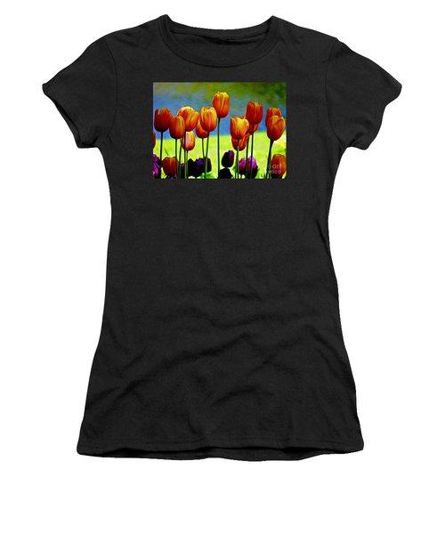 Proud Tulips Women's T-Shirt (Athletic Fit)
