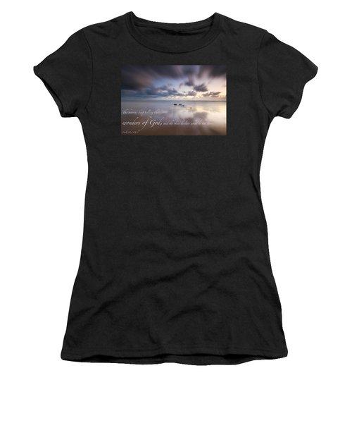 Psalm 19 1 Women's T-Shirt