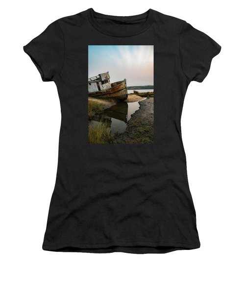 Pt. Reyes Shipwreck 4 Women's T-Shirt (Athletic Fit)