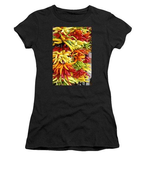 Public Market Peppers Women's T-Shirt (Athletic Fit)