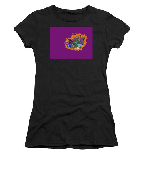 Puff Of Color Women's T-Shirt