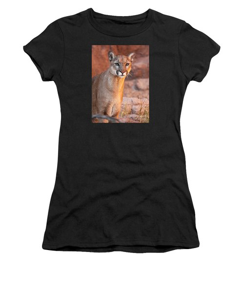 Puma At Sunset Women's T-Shirt (Athletic Fit)