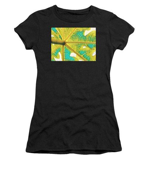 Puna Papaya Leaf Women's T-Shirt