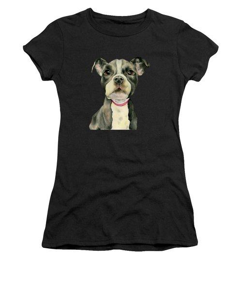 Puppy Eyes Women's T-Shirt