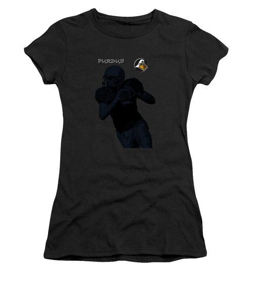 Purdue Football Women's T-Shirt (Athletic Fit)