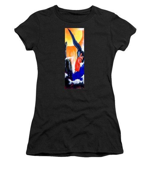 Purgatorio Women's T-Shirt (Athletic Fit)