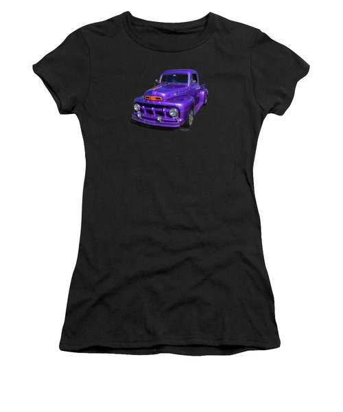 Purple 51 Women's T-Shirt (Athletic Fit)