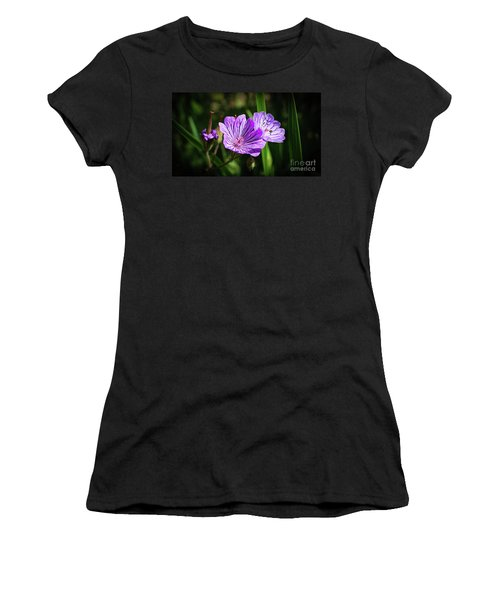 Purple Attraction Women's T-Shirt (Athletic Fit)