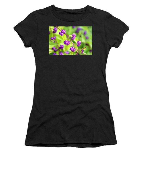 Purple Berries Women's T-Shirt