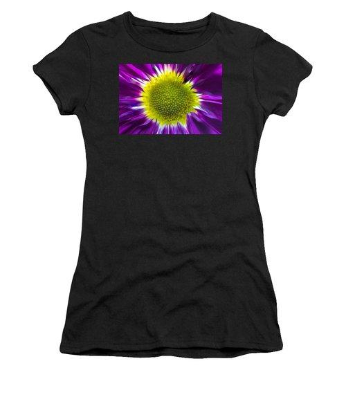 Purple Burst Women's T-Shirt (Athletic Fit)