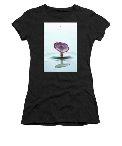 Purple Capped Drop Women's T-Shirt