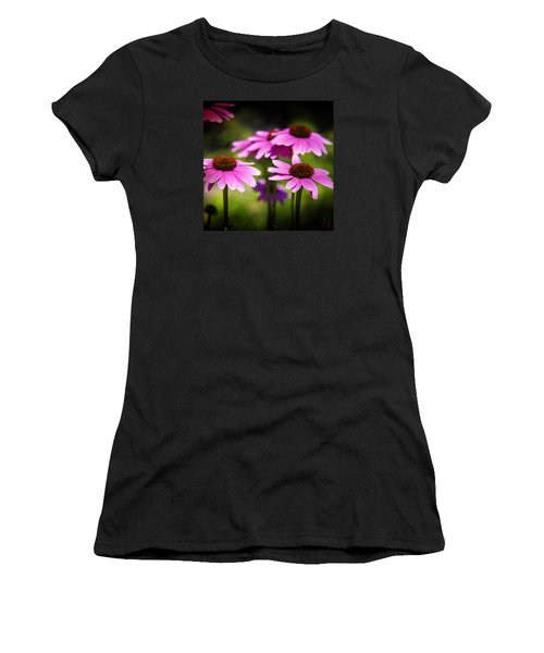 Purple Coneflowers Women's T-Shirt (Athletic Fit)