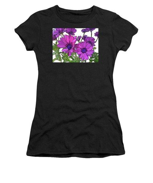 Purple Days Women's T-Shirt (Athletic Fit)