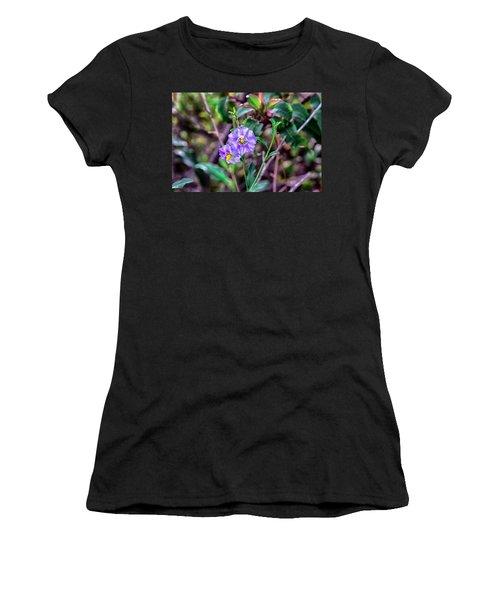 Purple Flower Family Women's T-Shirt