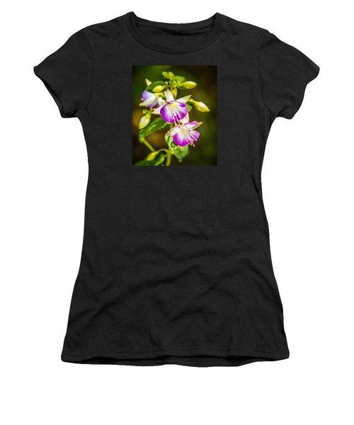 Purple Glow Women's T-Shirt (Athletic Fit)