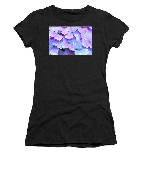 Purple Hydrangeas Women's T-Shirt