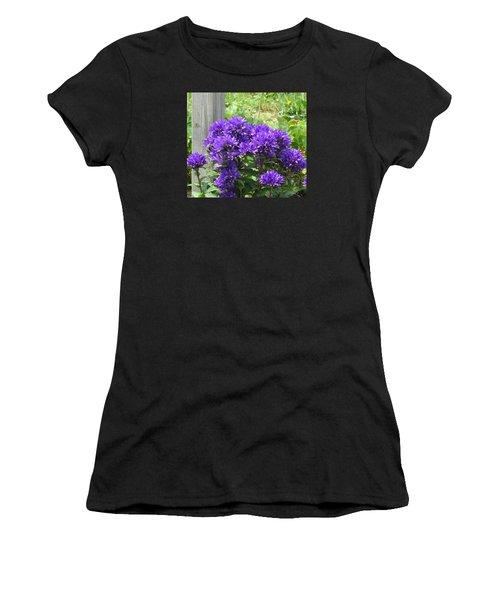 Purple In The Forest Women's T-Shirt (Junior Cut) by Jeanette Oberholtzer