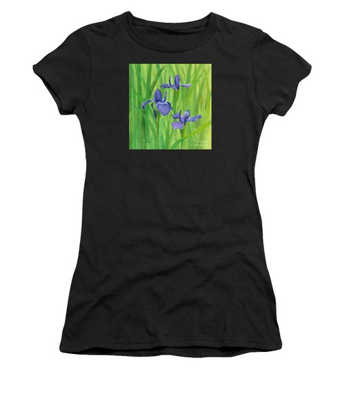 Purple Iris Women's T-Shirt