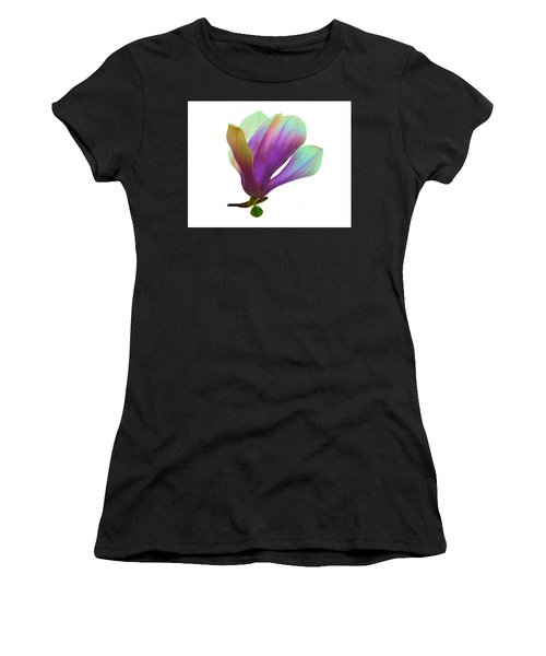 Purple Magnolia Women's T-Shirt (Athletic Fit)