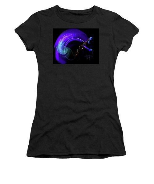 Purple Moon Women's T-Shirt