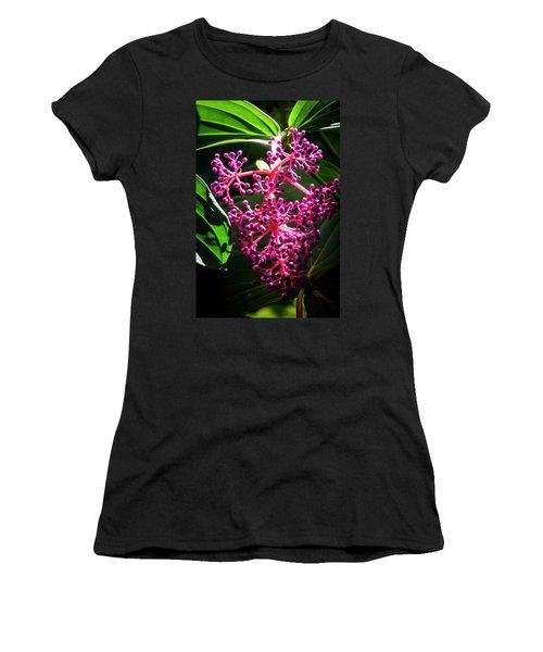 Purple Plant Women's T-Shirt (Athletic Fit)
