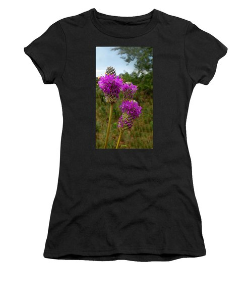 Purple Prairie Clover Women's T-Shirt
