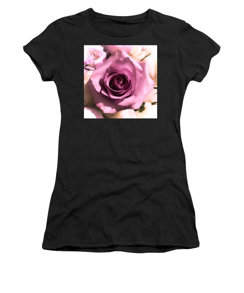 Purple Rose Women's T-Shirt