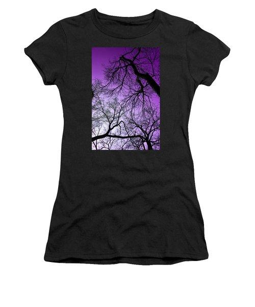 Purple Sky Women's T-Shirt (Athletic Fit)