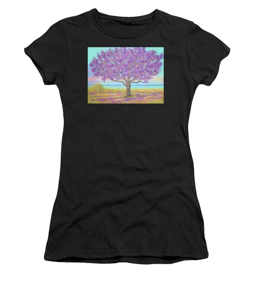 Purple Tree Women's T-Shirt
