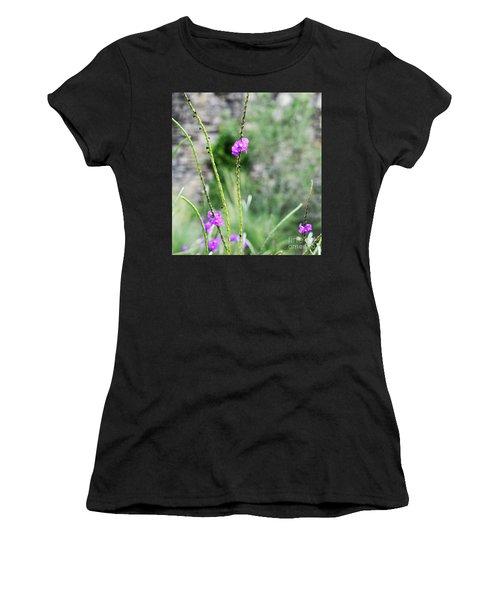 Purple Vebena Women's T-Shirt