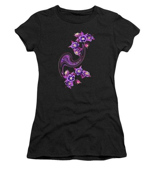 Purple Velvet Women's T-Shirt