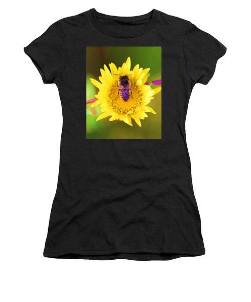 Purple Wings Women's T-Shirt (Athletic Fit)