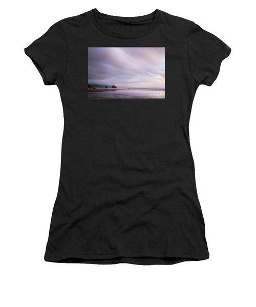 Purple Wisp In The Morning Women's T-Shirt